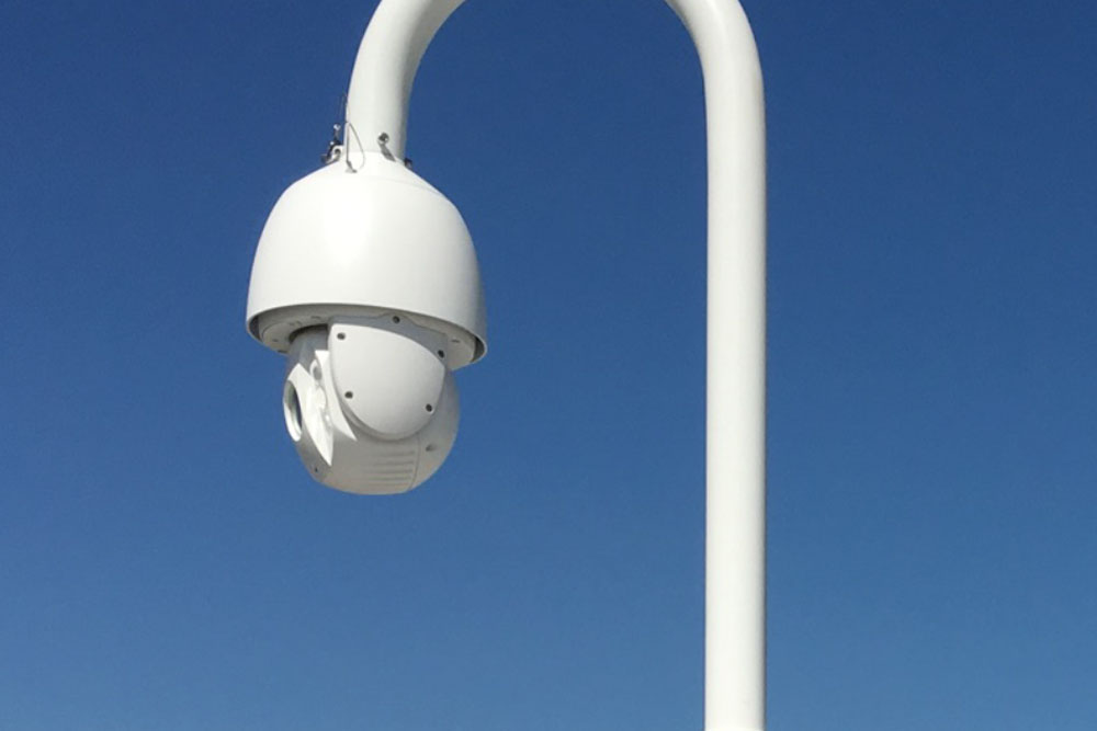 The Christie CCTV Roof Camera Project