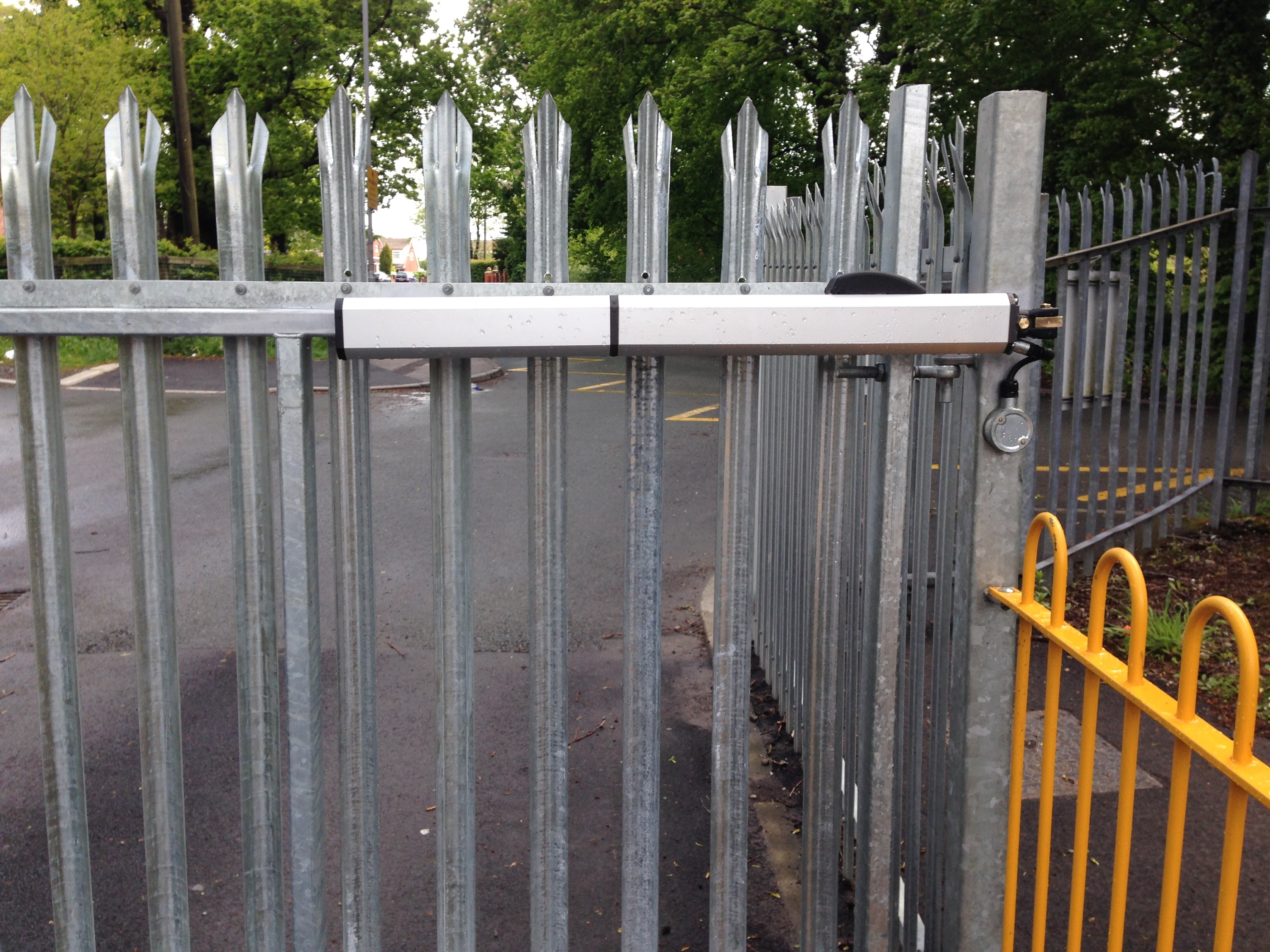 Grange Valley School – FAAC Auto Gates