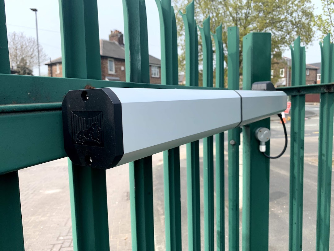 Merton Bank Primary School – FAAC Automatic Gate Installation